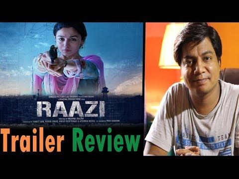 Trailer Review   Raazi   Alia Bhatt   Vicky Kaushal thumbnail