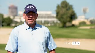 100 yards and in with Thomas Bjorn | Callaway Tour Tips