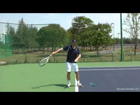 How to Effortlessly Generate Powerful Tennis Serves