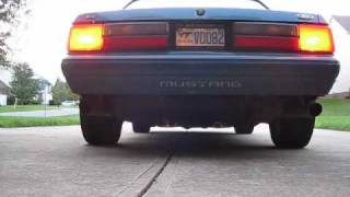 Fox Body Mustang with Bassani Exhaust