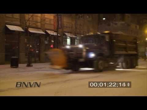 12/14/2009 Minneapolis, MN Overnight Snow Video