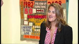 Artist Tracey Emin speaks about her latest exhibition