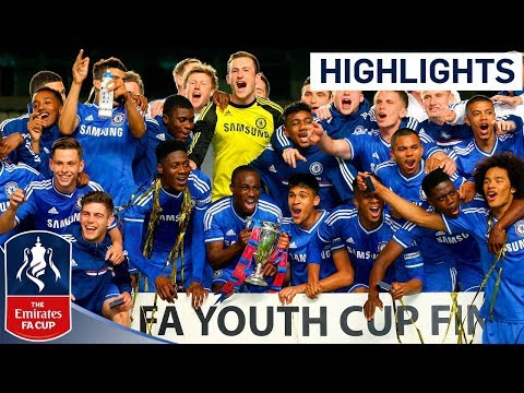 CHELSEA VS FULHAM 5-3: Goals and highlights FA Youth Cup Final Second leg 2014