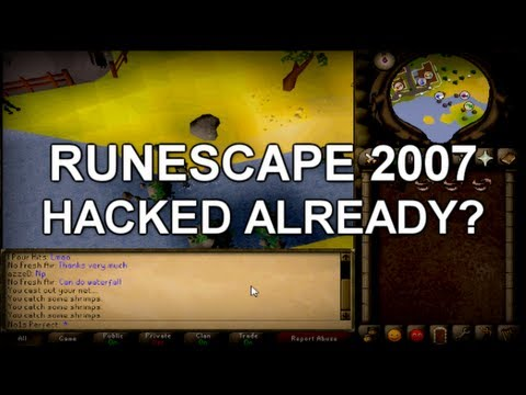 RS 2007 HACKED ALREADY?! + The 2K7 Experience Introduction!