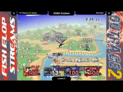 Outrage II - Zinoto/FF Stewy (Diddy/MK) vs Ron/Zyth (MK&ROB/DK)