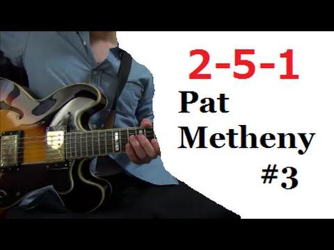 II V I - Pat Metheny #3 【Jazz Guitar Lesson】 Tabs