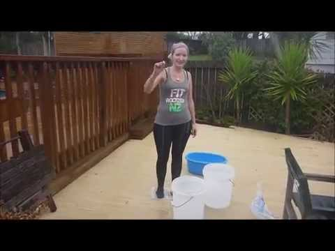 Cancer Awareness Ice Challenge - Sophie Hinton - Fit Rockers NZ (C)