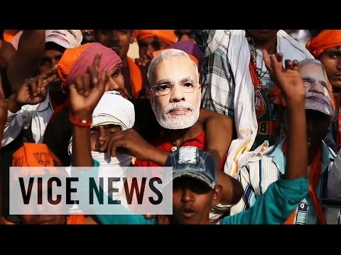 India's Leading PM Candidate Rallies in Varanasi