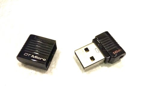 Unboxing/Review of the 16GB Kingston DataTraveler Micro Flash Drive