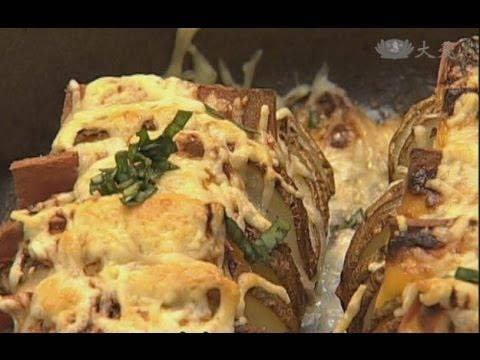 現代心素派-20140617 名人廚房 - 阿嬌 - 鳥巢烤馬鈴薯蛋、乳酪烤馬鈴薯