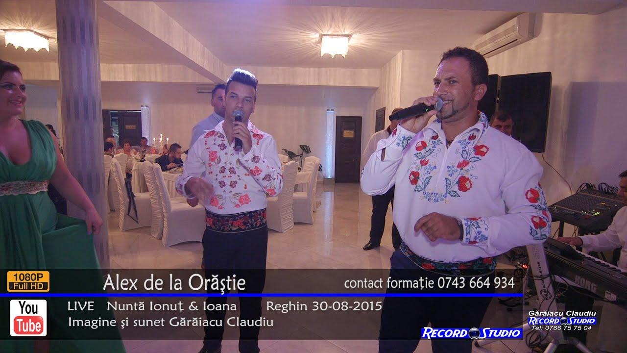 Alex de la Orastie - Azi va cant cu bucurie / Colaje LIVE Nunta Ionut & Ioana 30-08-2015