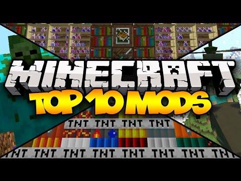 TOP 10 MINECRAFT MODS! (1.7.10) - 2014 (Part 2)