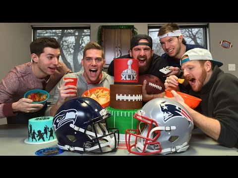 Super Bowl Party Stereotypes