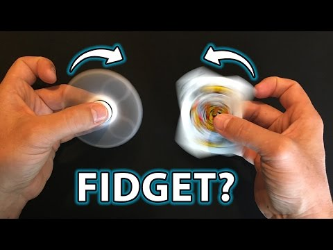 Fidget Spinners Vs NO Fidget Spinner!! (How To Do Finger TRICKS!!)