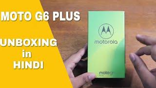 MOTO G6 PLUS UNBOXING AND REVIEW IN [HINDI-हिन्दी] |  REDMI NOTE 5 PRO KILLER | Ft.TECHNICAL GURUJI