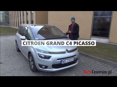 [PL] Citroen Grand C4 Picasso 1.6 HDI 115 KM, 2013 - test AutoCentrum.pl