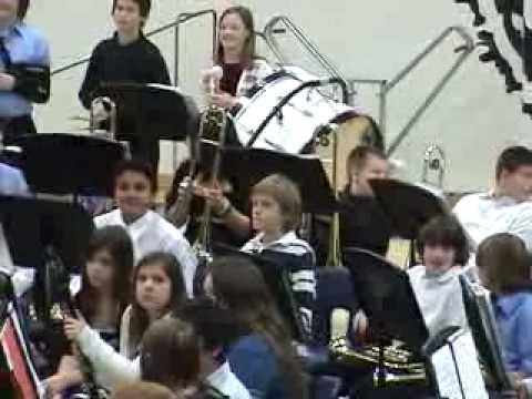 2010 Lakeview Middle School Beginner Band - before the concert