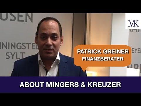 DAS SAGT ... Patrick Greiner ÜBER UNS! #AboutMingersKreuzer