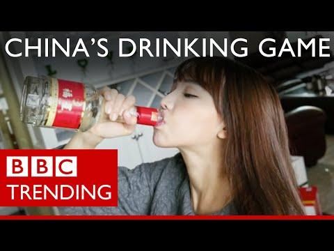 Chinese binge on Baijiu in dangerous drinking game