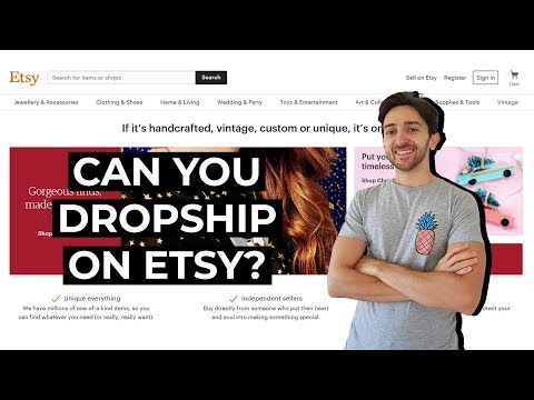 Can You Dropship Using Etsy?