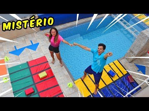 DESAFIO DO JOGO MISTERIOSO! - KIDS FUN