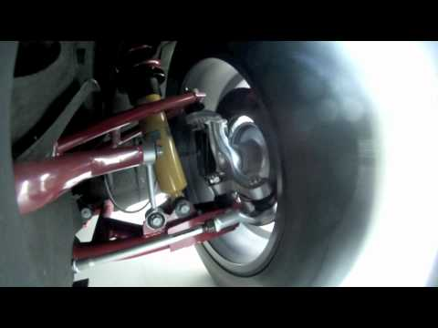 Brake Glow and Suspension Action