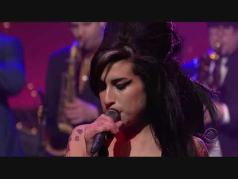 Amy Winehouse - Rehab (Late Show With David Letterman)
