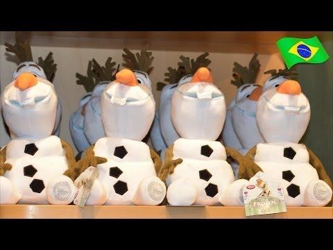 Lojas Disney Frozen Uma Aventura Congelante Brinquedos Bonecas do Filme O Reino do Gelo