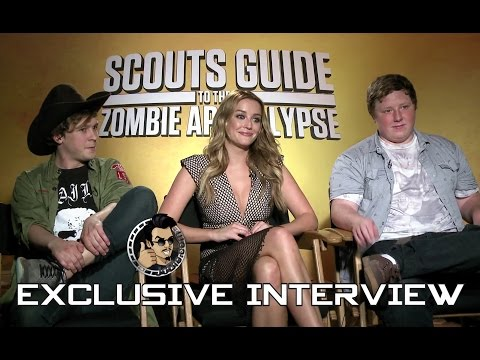 Scouts Guide To The Zombie Apocalypse - Cast Interview (JoBlo Exclusive)
