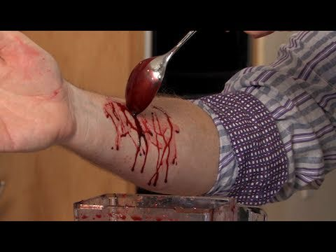 Homemade Fake Blood - Halloween Sick Science! #008