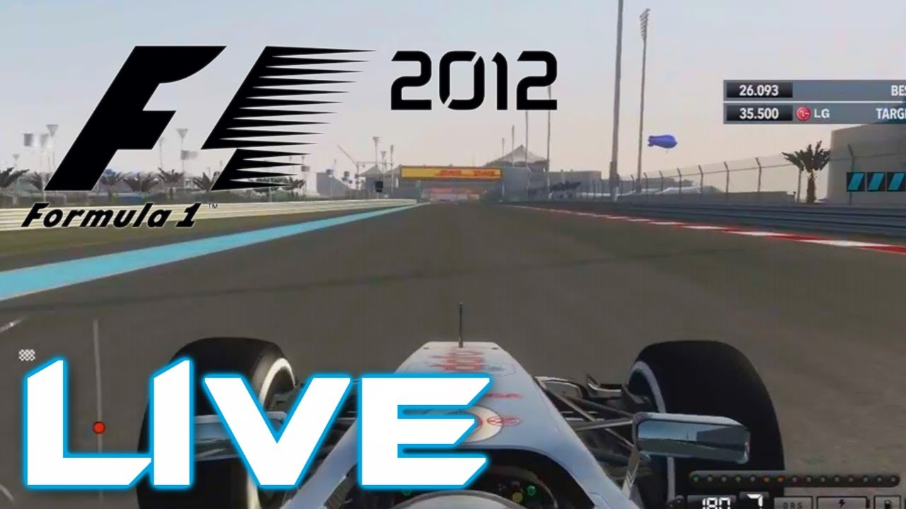 f1 2012 f1 2012 demo live stream w racing wheel youtube. Black Bedroom Furniture Sets. Home Design Ideas