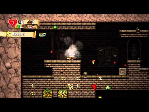 Foxman Plays: Spelunky - Episode 88 - Marathon