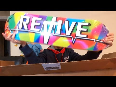 What Is Your Favorite Revive Skateboard?  Winter 2019 Unboxing!