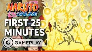 25 Minutes of Crimson Fist Gameplay - Naruto Online
