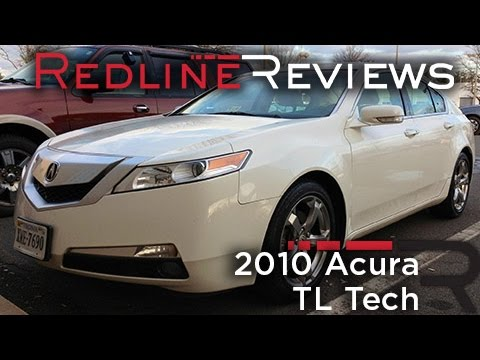 2010 Acura TL Tech Review. Walkaround. Exhaust. Test Drive