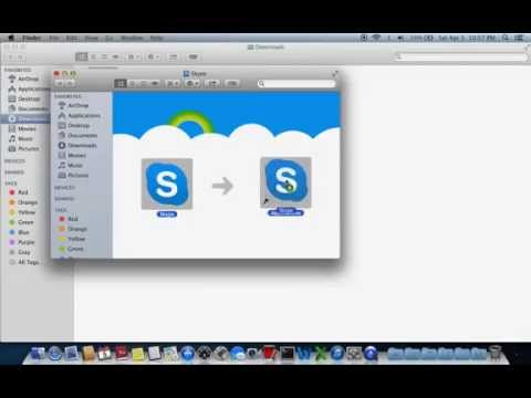 How to download and install Skype on Mac