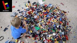 MY $200 MYSTERY LEGO YARD SALE HAUL!   **64 lbs of Lego**