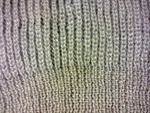 Объемная резинка (вязание на спицах).  Volumetric gum (knitting)