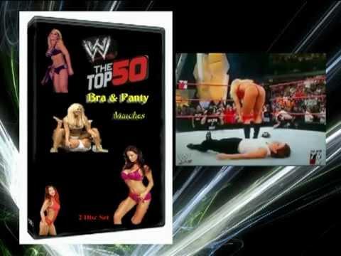 WWE: Top 50 Bra & Panty Matches  (DVD)