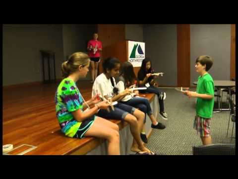 8th Graders enjoy Young Scholars Camp at Georgia Northwestern Technical College