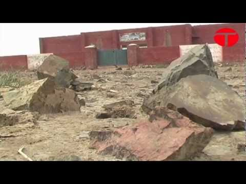 Come rain or rocks: Sargodha school functions in unsafe conditions