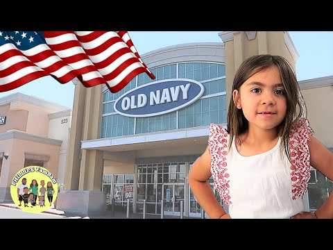 KIDS FOURTH OF JULY OLD NAVY SUMMER CLOTHING HAUL | LARGE FAMILY DAY IN THE LIFE VLOG