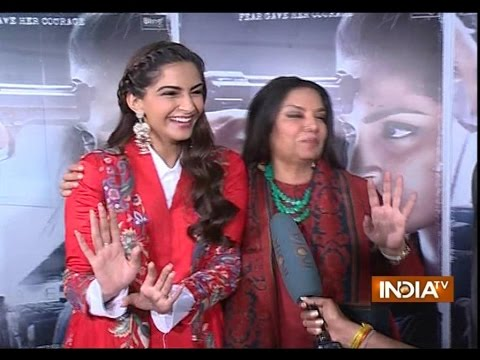 Neerja: Sonam Kapoor, Shabana Azami and Ram Madhwani talk about the movie
