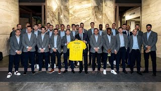 El Villarreal visita Cevisama 2020
