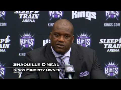 Shaquille O'Neal joins the Sacramento Kings Ownership