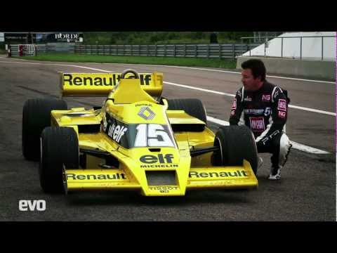 Renault RS01 F1 – exclusive drive – EVO