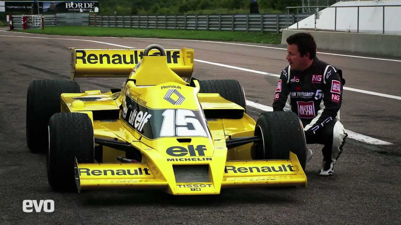 Renault Rs01 F1 Exclusive Drive Evo Youtube