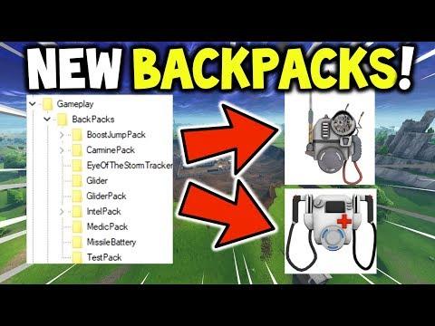 *NEW* Fortnite MEDIC BACKPACK & INTEL BACKPACK (Strom Tracker) + BIGGER INVENTORY (Battle Royale)