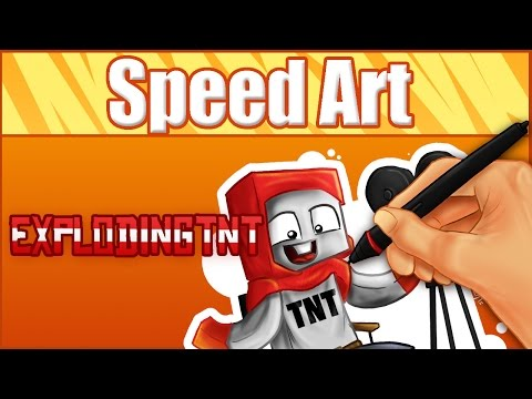 ExplodingTNT- Speed Art