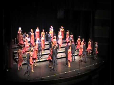 Ra's Sky perfromed by Xuberance Show Choir of Xavier High School in Cedar Rapids, Iowa - 01/26/2012
